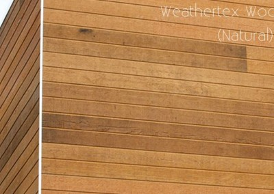 Weathertex Rusticated